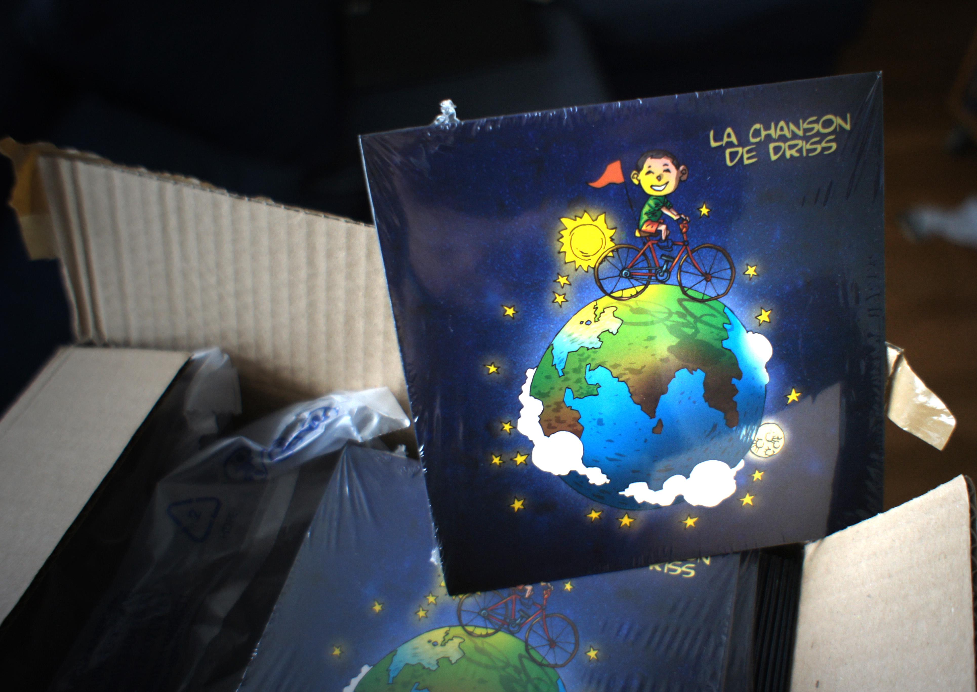 le CD de la Chanson de Driss est disponible…