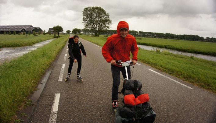Anvers – Amsterdam en 100% rollers