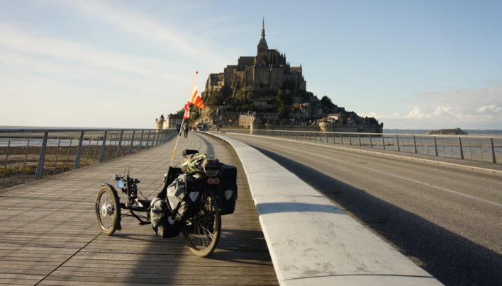 Montreuil – Mont Saint Michel en solo (la Véloscénie)